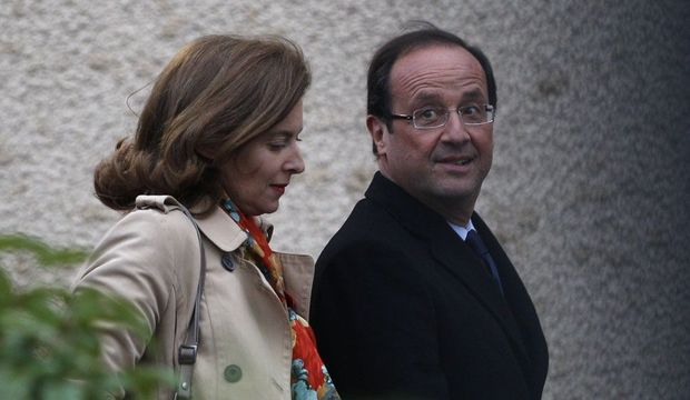 Valérie Trierweiler François Hollande-