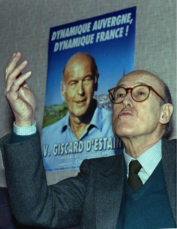 Valéry Giscard d'Estaing 1993