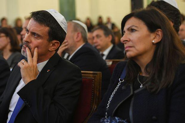Manuel Valls, présent lundi soir et très applaudi