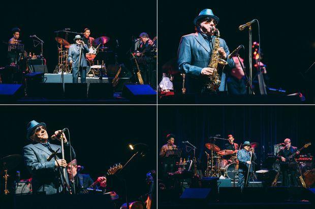 Van Morrison a donné deux concerts en une soirée à l'Olympia mardi soir.