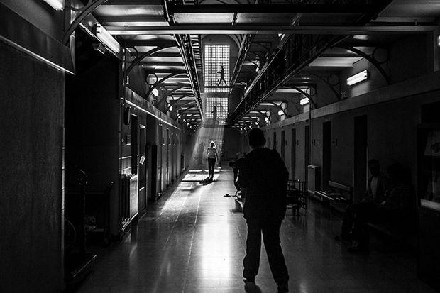Dans l'établissement pénitentiaire de Gand, décembre 2013.