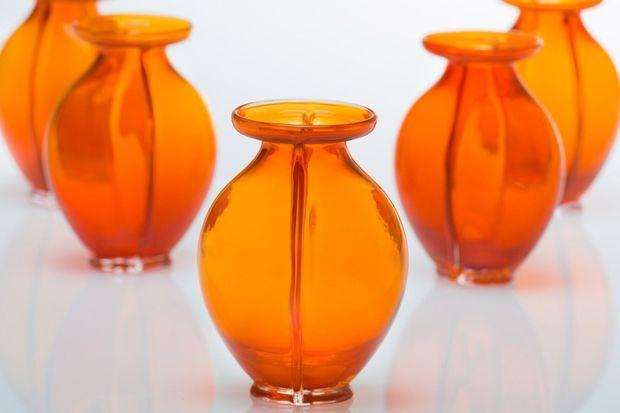 Le vase orange créé pour les 50 ans du roi Willem-Alexander des Pays-Bas en 2017