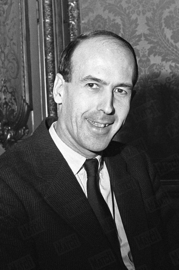 Valéry Giscard d'Estaing, alors ministre des Finances et des Affaires économiques du gouvernement Debré, en janvier 1962.