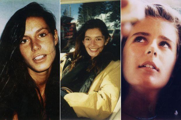 Cathy Rocher, Elsa Benady et Estelle Magd, des victimes de Guy Georges.