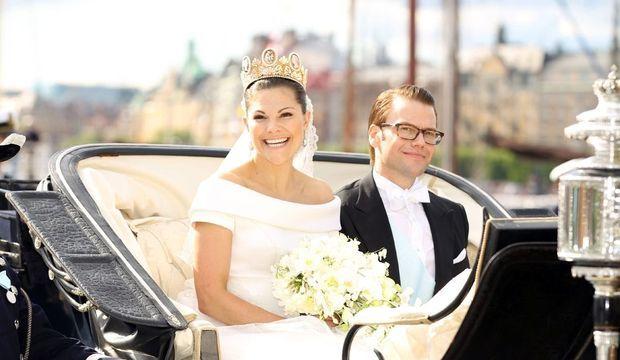 Victoria de Suède et Daniel Westling-