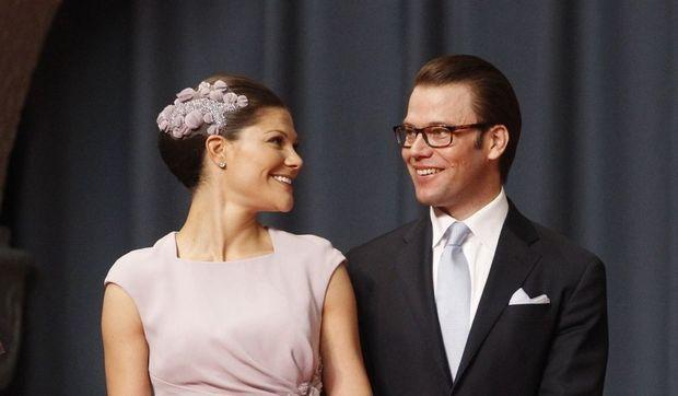 Victoria de Suède et le prince Daniel-