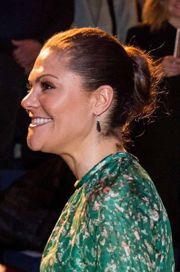 La princesse Victoria de Suède à Stockholm, le 22 mars 2018