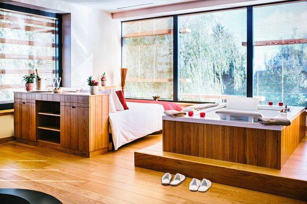Spa-suite VIP à la Villa Loiseau des Sens.