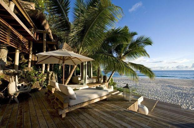 Villa North Island Seychelles mer-