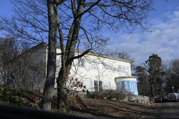 La Villa Solbacken à Stockholm enore en travaux le 17 février 2017