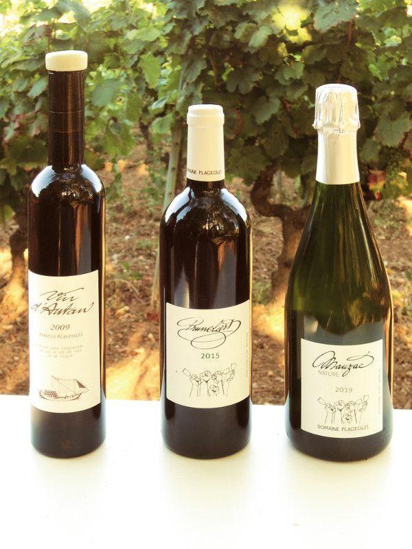 Vin d'Autan, prunelart, mauzac… de 11,50 à 40 euros la bouteille.