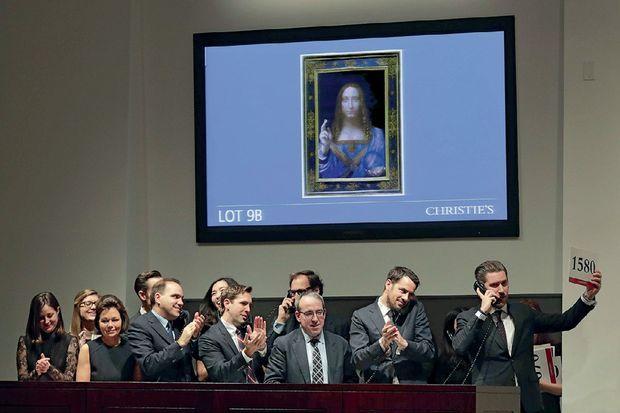 chez Christie's à New York, mercredi 15 novembre, le lot 9B va être attribué en dix-neuf minutes. L'acheteur : deux fonds de pension, liés à d'importants musées.