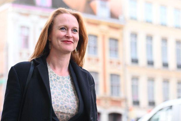 Violette Spillebout, candidate LREM à la mairie de Lille, le 22 novembre.