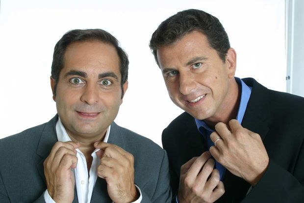 Laurent Fontaine et Pascal Bataille