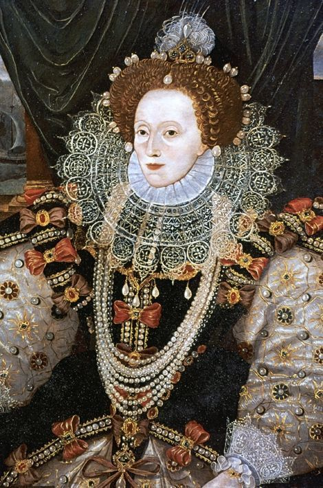 Portrait de la reine Elisabeth Ire attribué à George Gower, vers 1588