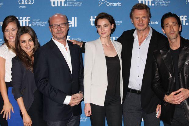 Loan avec toute l'équipe de «The Third Person» à Toronto