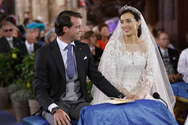 Claire Margareta Lademacher a épousé religieusement le prince Félix de Luxembourg à Saint-Maximin-la-Sainte-Baume, le 21 septembre 2013