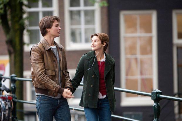 Shailene Woodley et Ansel Elgort dans «Nos étoiles contraires».