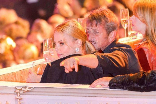 Charlize Theron et Sean Penn à Vienne le 16 mai dernier.