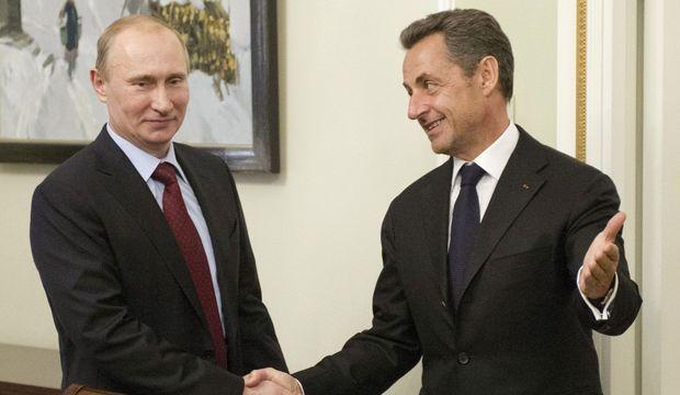 Vladimir Poutine Nicolas Sarkozy Reuters-
