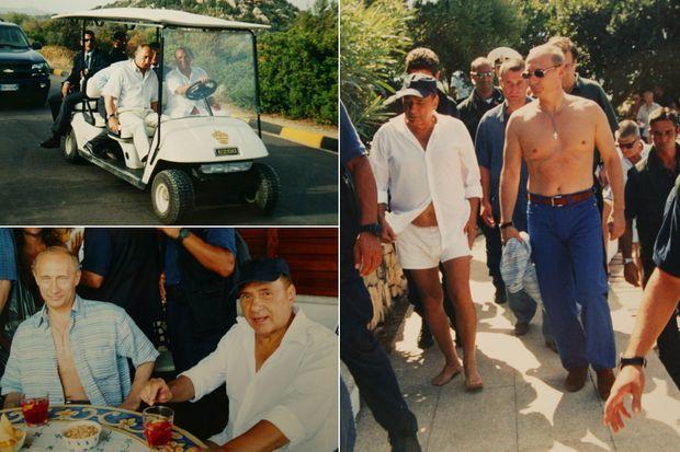 En août 2003, le président russe Vladimir Poutine rejoignait son ami Silvio Berlusconi pour des vacances à la Villa Certosa.