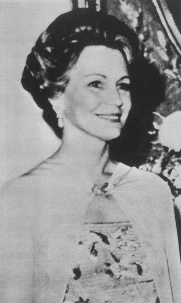 """Martha """"Sunny"""" Von Bulow en 1976."""