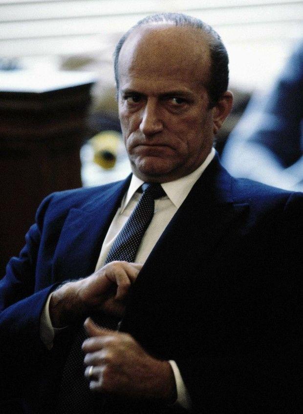 Claus von Bulow au tribunal de Newport, lors de son premier procès, en février 1982.