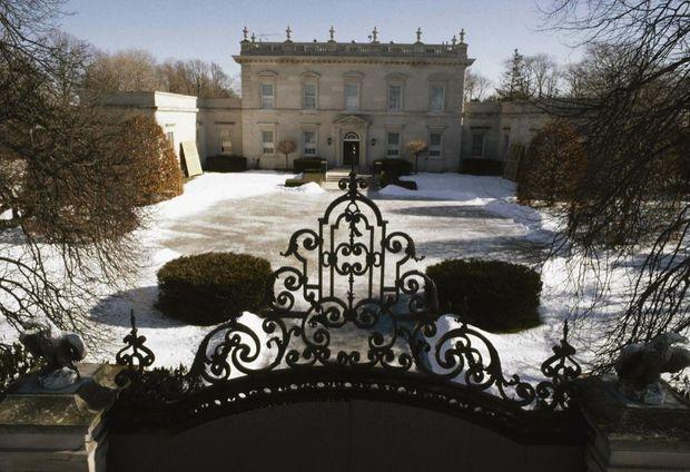 Le lieu du drame : Clarendon Court, la résidence de la famille von Bülow à Newport, dans l'Etat de Rhode Island, sur la côte est des Etats-Unis.