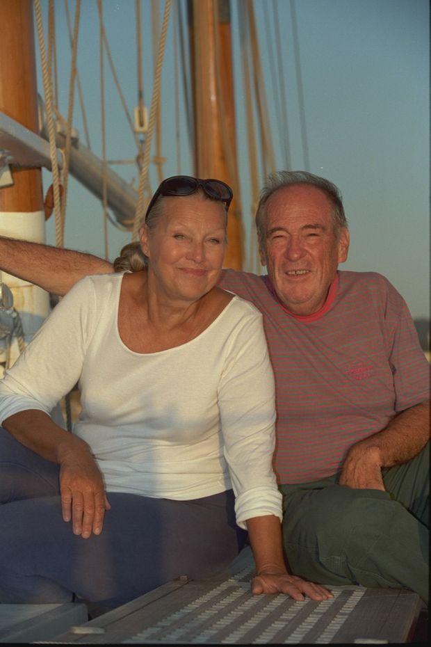 Jean Vuarnet et Christiane, en avril 1999.