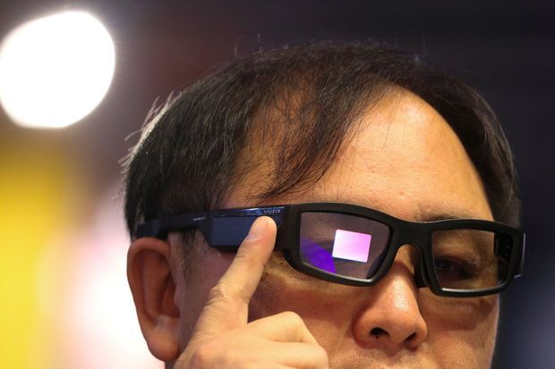 Les lunettes Vuzix.