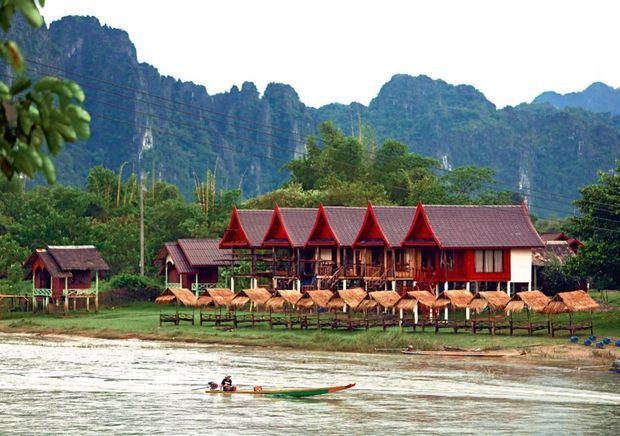 Les petits hôtels respectent l'architecture asiatique