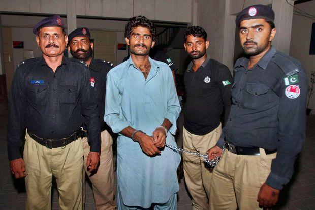 Waseem Azeem, le frère de Qandeel Balosh, le jour de son arrestation, le 17 juillet 2016.