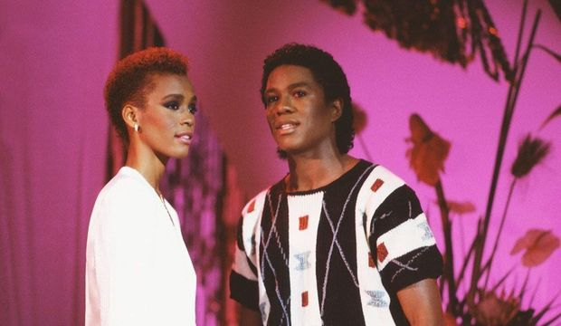 Whitney Houston et Jermaine Jackson-