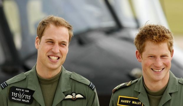 William et Harry-