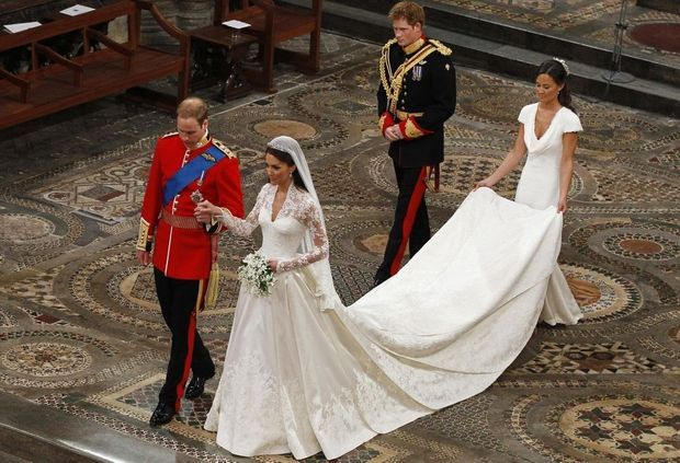william Kate Harry Pippa mariage-