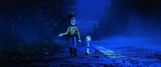 Woody et Fourchette, un nouveau personnage...