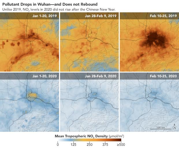 Coronavirus : la spectaculaire amélioration de la qualité de l'air en Chine