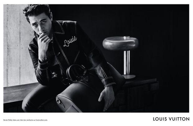 Xavier Dolan présente Ombré, une nouvelle ligne de maroquinerie de Louis Vuitton, dans une campagne publicitaire.