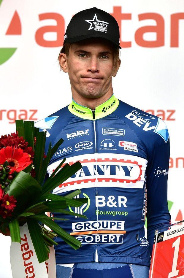 Yoann Offredo, élu plus combatif de l'étape Düsseldorf - Liège