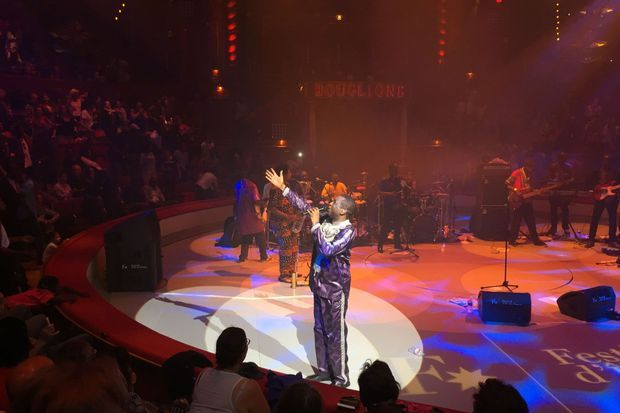 Youssou N'Dour en concert dimanche
