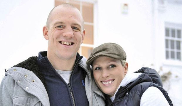 zara phillips et Mike tindall fiançailles-