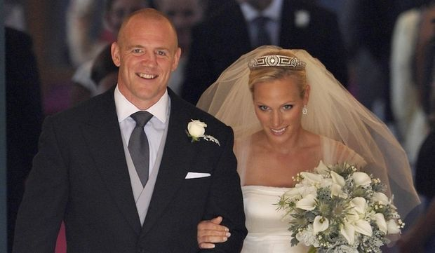 Zara Phillips et Mike Tindall - mariage-
