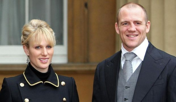 Zara Phillips Mike Tindall-