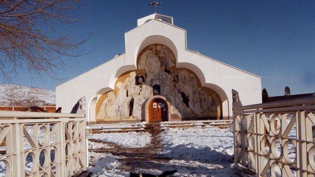 La chapelle consacrée de son vivant à Baba Vanga.