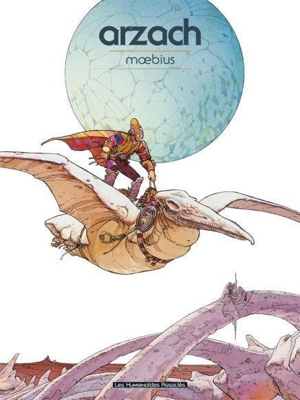 """Une révolution à l'époque. """"Arzach"""" explore de nouvelles aventures dans le domaine de la narration en bande-dessinée avec une série de courtes histoires liées par un même personnage."""