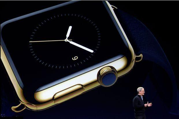 Apple choisit le luxe pour sa montre connectée