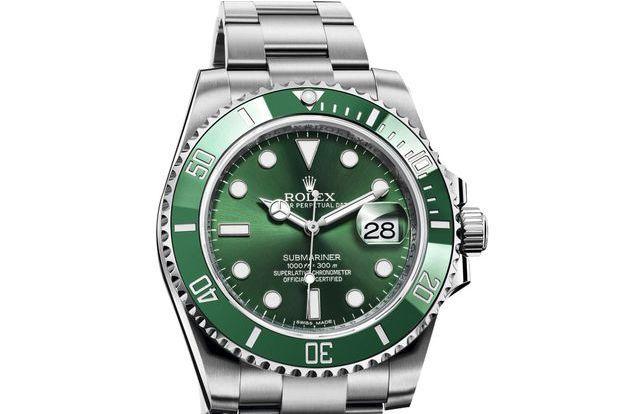 Les montres prennent des couleurs