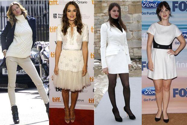 Cinq façons de porter le blanc cet automne