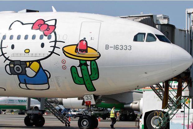 Paris-Taïwan sur les ailes d'Hello Kitty