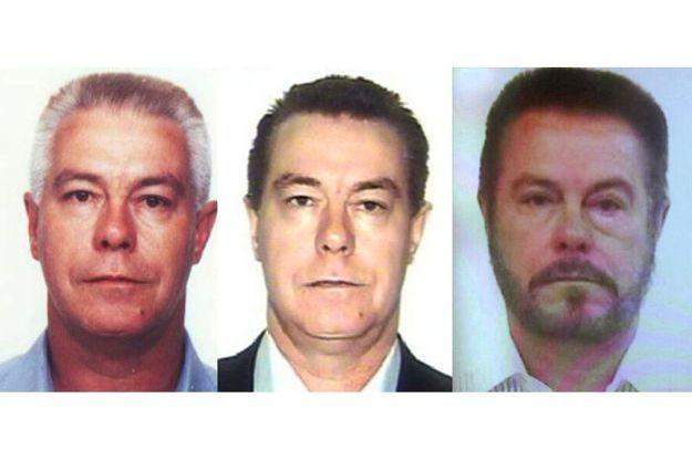L'évolution du visage de Luiz Carlos da Rocha pour échapper à la police.